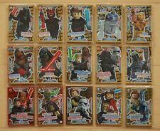 Lego Star Wars Serie 2 limitierte Karten LE1 - LE20 aussuchen / choose