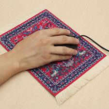 Rectangular persian mini rug woven rug mouse pad carpet tassel mat HU