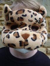 Plush 3D LEOPARD CHEETAH MASK WITH EARS Dress ups Costume Halloween Book Week