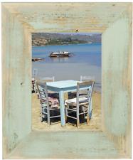 Bilderrahmen aus echtem Alt-Holz im Landhaus-Stil vintage, rustikal - Mint