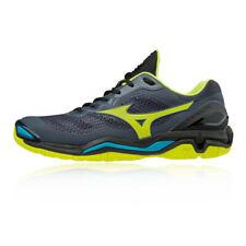 Mizuno Mens Wave Stealth V Court Shoes Black Sports Squash Badminton Handball