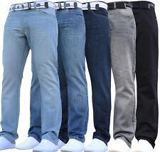 Mens Jeans Branded Designer Smart Casual Cheap Sale Present All Waist Leg Sizes