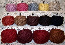 Bulky~~Wool/Mohair Doll Hair Yarn~~~Single Ply~~For All Your Doll Hair Needs~EB