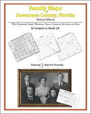 Family Maps Suwannee County Florida Genealogy FL Plat