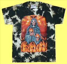 T-Shirt Totenkopf Feuer Gr.86*92*98*104*110*116 Sensenmann, Biker Gothic Rocker