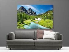 Cuadro pinturas decoración en kit Paisaje el Montaña ref 28348567