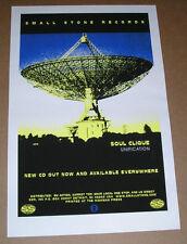 Soul Clique Unification Small Stone Promo Original Poster 25x16