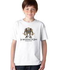 AproJes La Armadura de Dios Soldado Guerrero Camiseta Cristiana Kids