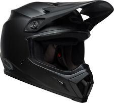 Bell Adult Matte Black MX-9 MIPS Solid Dirt Bike Helmet DOT ECE