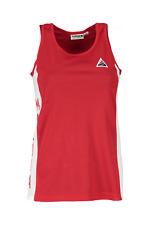 Maloja Freeride Camiseta parte superior con función Tirantes Rojo dorfenm.