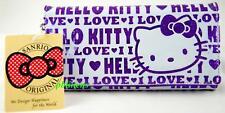 SALE SANRIO HELLO KITTY LONG PURSE/WALLET PURPLE FREE P&P UK UK SELLER