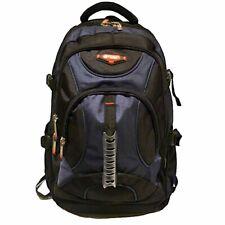 5fe89a4442ce Large Bag Mens Women Laptop Backpack Strong Rucksack School College Work  Travel