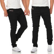 Diesel Jeans TEPPHAR 0886Z Herren Hose Slim Carrot schwarz Röhrenjeans NEU