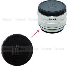 Rear Lens Cap Cover for Olympus M4/3 Micro 4/3 M.Zuiko Digital 17/1.8, 17/2.8