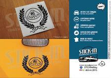 Lotus Elise S2 Autocollants Stickers Decals Heritage Laurel Wreath Quarter Panel