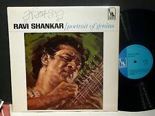 RAVI SHANKAR Portrait of  genius Liberty LBL83079E MONO Sitar Psych Original