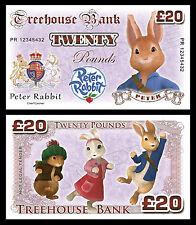 Peter Rabbit Novelty Banknotes / Party Bag Fillers