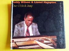 WILSON TEDDY HAMPTON LIONEL- ONE O'CLOCK JUMP. RARO CD.