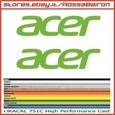 KIT 2 ADESIVI ACER mm.50 x 12 - STICKERS AUFKLEBER PEGATINAS DECALS