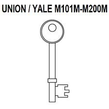 PRECUT KEYS FOR UNION / YALE 3 LEVER LOCKS M101M - M200M DOOR KEY