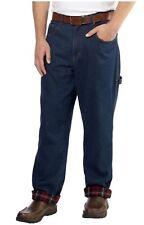 Boston Traders Men's Lined Work Jeans  Indigo