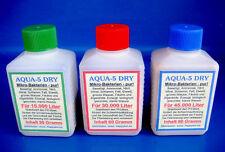 Aqua 5 Dry Teichbakterien - 30, 60 und 90 Gramm - Aquarium - Filter - Happykoi