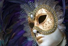 Wandaufkleber aufkleber deko Maske Venedig - ref 1580 (16 größe)
