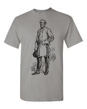 Robert E. Lee Image Men's Tee Shirt 1667