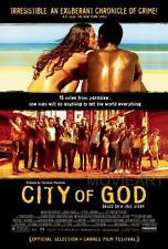 CITY OF GOD MOVIE POSTER FILM A4 A3 ART PRINT CINEMA