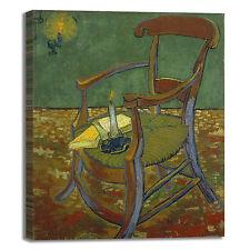 Van Gogh sedia di Gauguin design quadro stampa tela dipinto telaio arredo casa