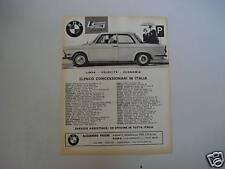 advertising Pubblicità 1963 BMW LS LUXUS