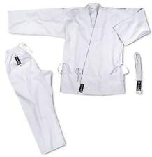 Karate-gi base cotone kimono bianco cintura CORSPORT divisa arti marziali scuola