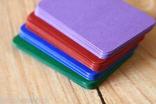 500pc Intense couleurs en vrac Set À faire soi-même BLANK Business Cards Wedding Craft nom carte
