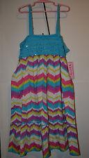 Swak Girls   Sun Dress  Sizes 4  NWT Ruffles and Stripes