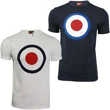 Para Hombre Merc London Camiseta 'ticket' Target Impresión