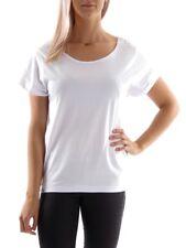 Shisha T-Shirt Shirt Oberteil Nicki Lüüd weiß Spitzeneinsatz rundhals