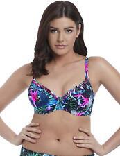 Freya Jungle Flower Plunge Bikini Top 5842 New Womens Underwired Swimwear