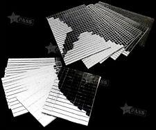 5/10MM THICK SHEETS REAR GLASS MIRROR MOSAIC BORDER TILES 600/150Pcs X 5
