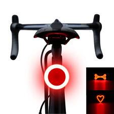 LED Bicicletta Fanale posteriore di sicurezza Spia LASER MOUNTAIN BIKE NOTTURNA LUCE POSTERIORE