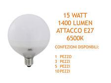 LAMPADA GLOBO LED 6500K 15W E27 1400LM ELPLAST BEGHELLI 56818 VARIE CONFEZIONI