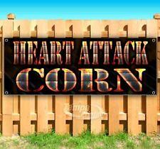 Heart Attack Corn Advertising Vinyl Banner Flag Sign Many Sizes Usa
