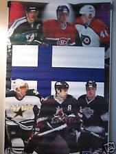 Finland Superstars 1997 Starline Poster Teemu Selanne Saku Koivu