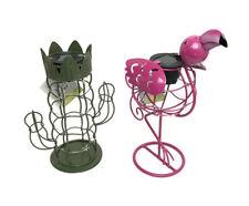 Garden Solar Powered Flamingo Cactus Light Figure Ornament Decor Table Lamp Gift