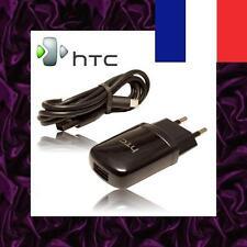 ★★★ Chargeur SECTEUR HTC + CABLE Micro USB Pour HTC HD2 / HD7