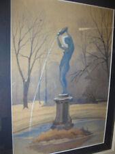 MARKS Albert, *1871 Brunnen im  Schloßpark