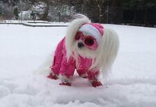 ROSE PATTE Manteau d'hiver Veste de snow,Manteau pour chien,manteau chiens GIRLS