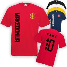 Mazedonien Makedonija T-Shirt Trikot incl. Name & Nummer S M L XL XXL