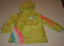 New Carter's Girls Raincoat 2T 3T 4T 5 7 8 12 14 Yellow Rainbow Girl Power