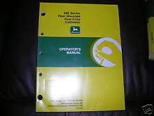 John Deere 886 Cultivator Operator's Manual