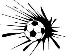 Sticker XXL, Sport Puissante Explosion Ballon de Football, Foot,(FOOT006)